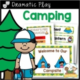 Dramatic Play Camping Theme for Pre-K and Kindergarten