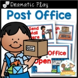 Dramatic Play Post Office Printables for Pre-K and Kindergarten