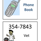 Dramatic play &quot;phone book&quot; for use in preschool or kindergarten