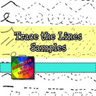 Primary Visual Arts: Learn Line through Trace Lines SAMPLE PAGES