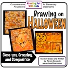 Drawing on Halloween - An Art Lesson About Composition