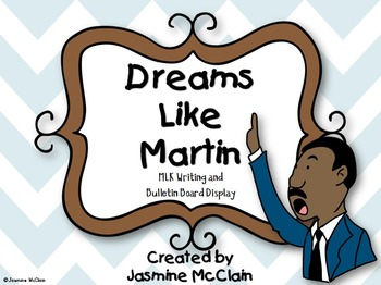 Dreams Like Martin: FREE MLK Day Bulletin Board Display