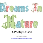 Dreams in Nature Poetry Lesson with Printables
