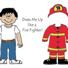 Dress Me up like a Fire Fighter - Community Helpers Color