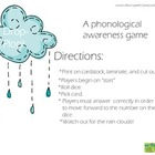 Drop-Plop! A phonological awareness game