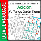 Dual Language Immersion: &quot;Yo Tengo...Quien Tiene&quot;  Additio