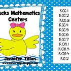 Ducks Mathematics Centers-Common Core