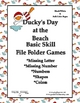 Ducky&#039;s Day at the Beach Basic Skill File Folder Games