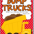 Dump Trucks Short u Literacy Activities