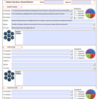 Dynamic Lesson Plan Template with drop-down boxes for PA S