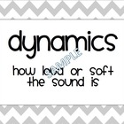 Dynamics Posters (Grey and White Chevron)