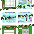 EASITEACH Calendar Math- 12 Month Set Spanish