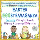 EASTER Pre-K to 2nd Grade Eggstravaganza: Concepts, Speech