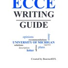 ECCE Writing Guide
