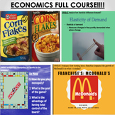 ECONOMICS FULL COURSE. EVERYTHING NEEDED WITH ALL DOCUMENTS!!!