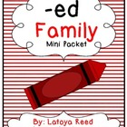 ED Word Family Mini Pack