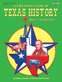 A Creative Look at Texas History: Grades 3-5  **Sale Price