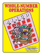 Whole-Number Operations Bingo Game  **Sale Price $2.49 - R