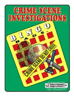 Crime Scene Investigation Bingo Game