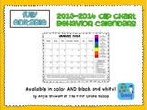 EDITABLE Clip Charts Behavior Charts for Parent Communicat
