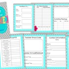 {EDITABLE!!}  Student Teacher Welcome Binder!!