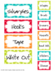 EDITABLE Teacher Toolbox Kit - Turquoise Dot Theme