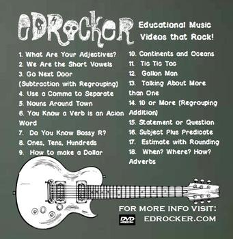 EDROCKER DVD: 18 Educational Music Videos that Rock!