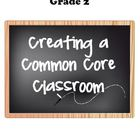 "ELA 2 Common Core  At-a-Glance, Mastery Checklists, and ""I"