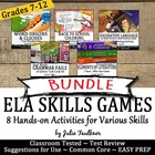 ELA Brain Breaks Bundle - Standards-Based Test-Prep Activities