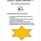 ELA CCSS W.6.2 Detail Types supporting details On-demand w
