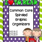 ELA Common Core Spiraled Graphic Organizers (RL.4)