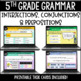 ELA Language Common Core Task Cards 5th Grade CCSS 5.L.1