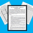 ELA Management Checklist Template