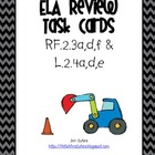 Second Grade ELA Review Task Cards Freebie