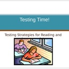 ELA Standardized Test Prep Presentation - PowerPoint and S