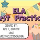 ELA State Test Practice for SMARTBOARD - English Language 