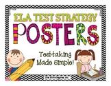 ELA Test Strategy Posters: Test-taking Made Simple!