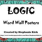 ELA Word Wall Bundle: Plot, Poetry, Rhetoric, Logic, Think