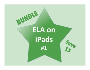 ELA on iPads Bundle #1 (Common Core Aligned!)