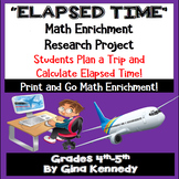 ELAPSED TIME ENRICHMENT PROJECT USING PRICELINE! FUN!