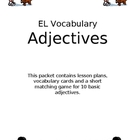 ELL Vocabulary - Adjectives