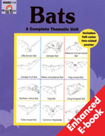 Complete Thematic Units, Grades 1-3, Bats (Enhanced eBook)