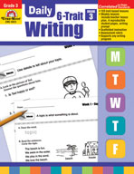 Daily 6-Trait Writing Grade 3 (Enhanced eBook)