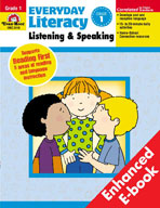 Everyday Literacy: Listening and Speaking, Grade 1 (Enhanc