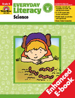 Everyday Literacy: Science, Grade K (Enhanced eBook)