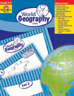 Geography Activity Cards, World Geography Cards (Enhanced eBook)