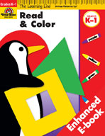 Learning Line Language Arts: Read and Color (Enhanced eBook)