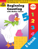 Learning Line Math: Beginning Counting Mother Goose