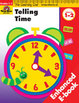 Learning Line Math: Telling Time (Enhanced eBook)