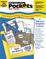 Literature Pockets, Intermediate, Tall Tales, Grades 4-6 (